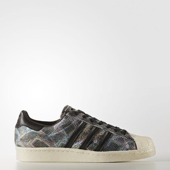 602d1ea30a43f Adidas Originals Superstar 80S Snakeskin SHOES